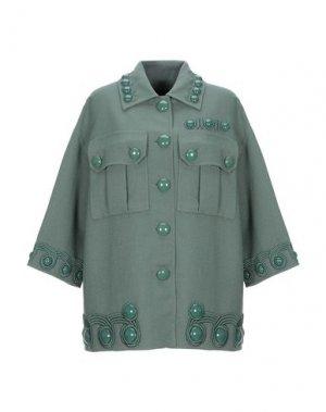 Пальто MARC JACOBS. Цвет: зеленый