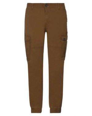 Повседневные брюки GARCIA. Цвет: хаки