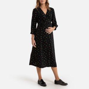 Платье LaRedoute. Цвет: разноцветный