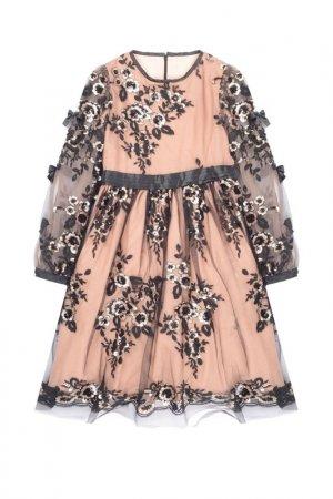 Платье Aletta. Цвет: розовый/черный