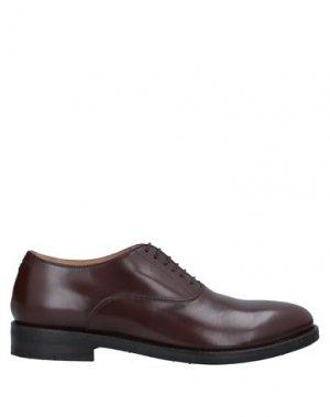 Обувь на шнурках ALBERTO FASCIANI. Цвет: какао