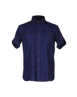 Pубашка RAW CORRECT LINE by G-STAR. Цвет: синий