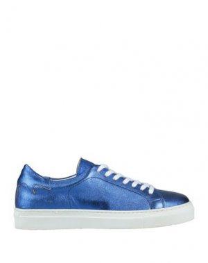 Низкие кеды и кроссовки BAGATT. Цвет: ярко-синий