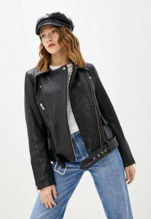 Куртка кожаная Y.A.S. Цвет: черный