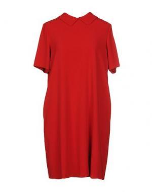 Короткое платье GIO' MORETTI. Цвет: красный