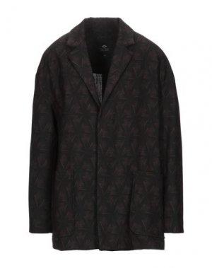 Пиджак TOM REBL. Цвет: темно-коричневый