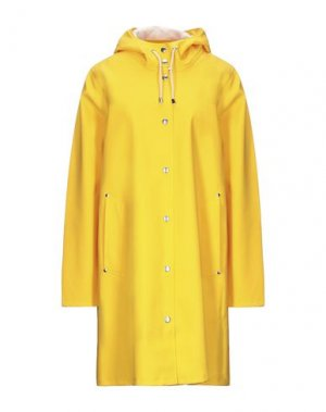 Легкое пальто STUTTERHEIM. Цвет: желтый