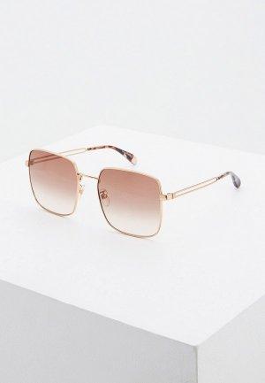 Очки солнцезащитные Givenchy GV 7148/F/S DDB. Цвет: золотой