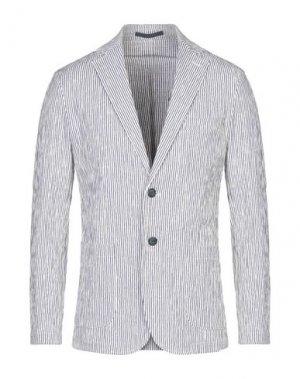 Пиджак CRUNA. Цвет: белый