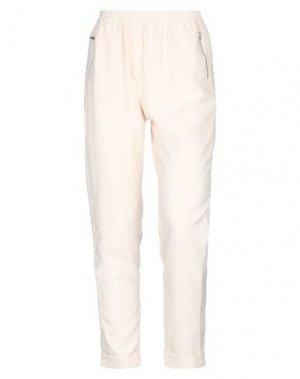Повседневные брюки AAIKO. Цвет: слоновая кость