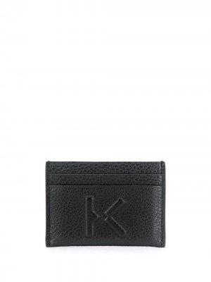 Картхолдер с тисненым логотипом Kenzo. Цвет: черный