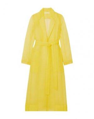 Легкое пальто JASON WU COLLECTION. Цвет: желтый