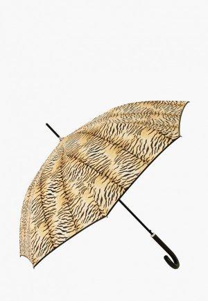 Зонт-трость VOGUE. Цвет: коричневый