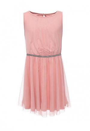 Платье Little Pieces. Цвет: розовый