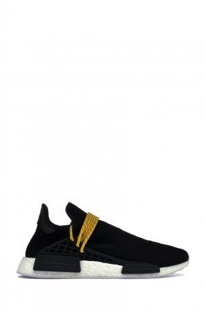 Кроссовки Human Race Adidas. Цвет: черный