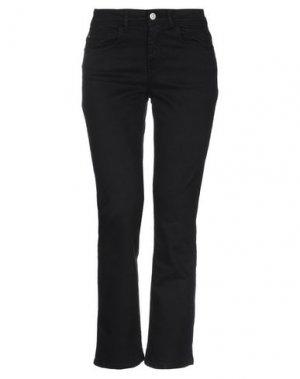 Джинсовые брюки JACQUELINE de YONG. Цвет: черный