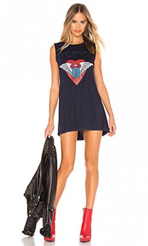 Платье-майка deanna Lauren Moshi. Цвет: синий
