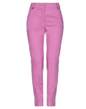 Повседневные брюки ANNA RACHELE. Цвет: розовато-лиловый