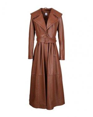 Пальто 8 by YOOX. Цвет: коричневый