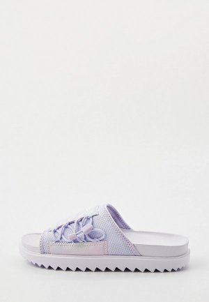 Сланцы Nike WMNS ASUNA SLIDE PRINT. Цвет: фиолетовый