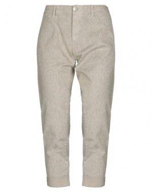 Джинсовые брюки CARE LABEL. Цвет: бежевый