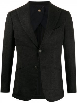 Однобортный пиджак Maurizio Miri. Цвет: коричневый