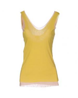 Майка ALYSI. Цвет: желтый