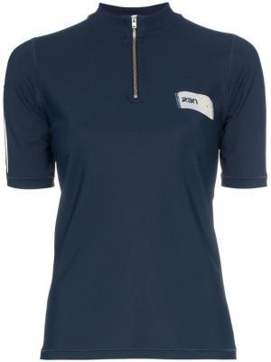 Рубашка-поло x RBN на молнии с логотипом Bjorn Borg. Цвет: синий