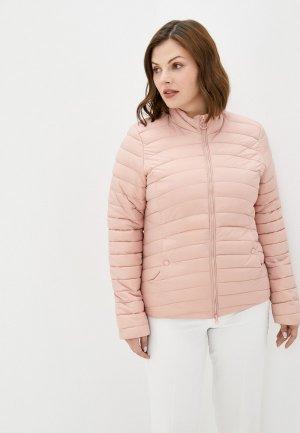 Куртка утепленная Colins Colin's. Цвет: розовый