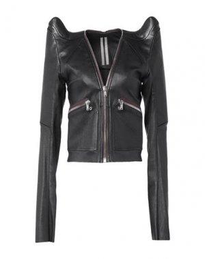 Куртка RICK OWENS. Цвет: черный