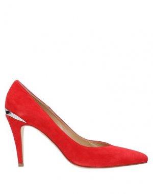 Туфли ALBERTO ZAGO. Цвет: красный