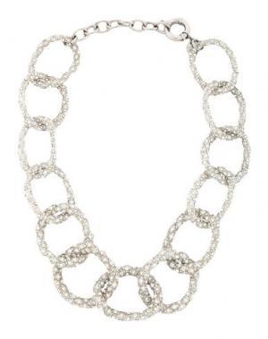 Ожерелье CA&LOU. Цвет: серебристый
