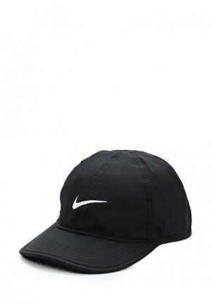 Бейсболка Nike Kids AeroBill Featherlight Cap. Цвет: черный