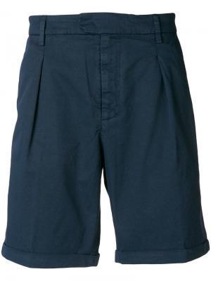 Классические шорты-чинос Dondup. Цвет: синий