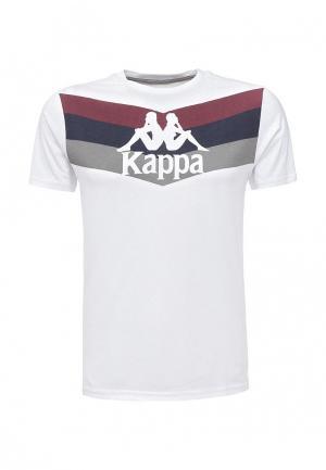 Футболка Kappa. Цвет: белый