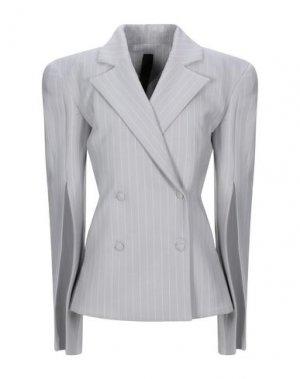 Пиджак GARETH PUGH. Цвет: светло-серый
