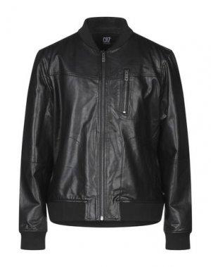 Куртка CR7 CRISTIANO RONALDO. Цвет: черный