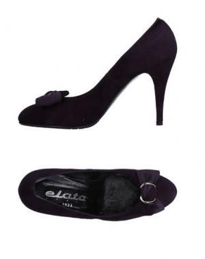 Туфли ELATA. Цвет: темно-фиолетовый