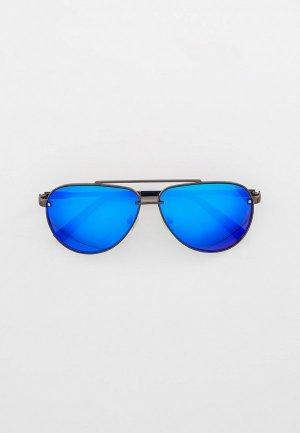 Очки солнцезащитные Thom Richard. Цвет: серебряный