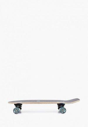 Скейтборд Street Surfing Cruiser kicktail 28``, космическая линия р. 0. Цвет: черный