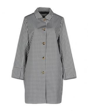Легкое пальто CAPPELLINI by PESERICO. Цвет: свинцово-серый