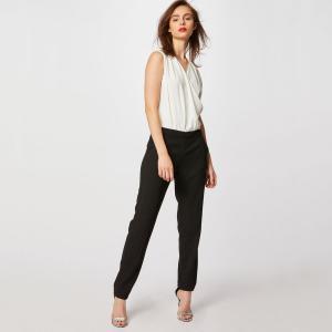 Комбинезон с брюками MORGAN. Цвет: белый/ черный