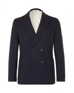 Пиджак OLIVER SPENCER. Цвет: темно-синий