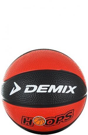 Мяч баскетбольный мини Demix. Цвет: красный
