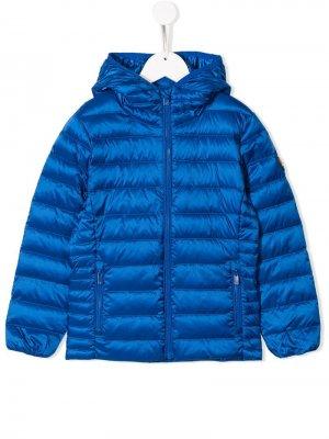 Куртка-пуховик с капюшоном Ciesse Piumini Junior. Цвет: синий