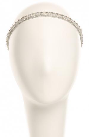 Повязка для волос Deepa Gurnani. Цвет: прозрачный