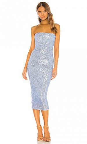 Платье fantasy Nookie. Цвет: синий
