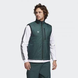 Жилет Meade Pro Originals adidas. Цвет: зеленый