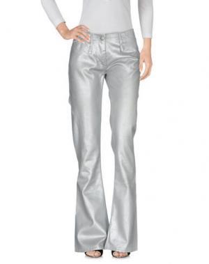 Джинсовые брюки ANDREW MACKENZIE. Цвет: серебристый