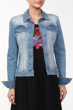 Куртка Philipp Plein. Цвет: синий